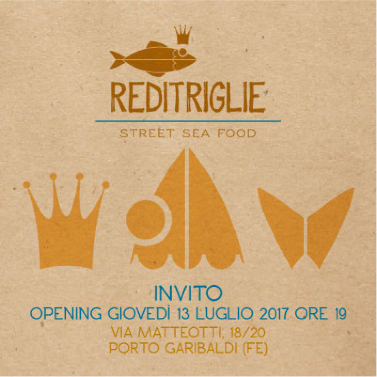DURELLO E STREET FOOD: REDITRIGLIE